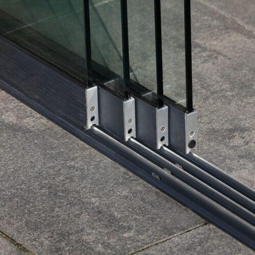 Linguria glass sliding doors